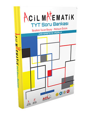 Acil Yayınları - Acil Matematik TYT Soru Bankası