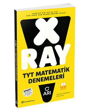Arı Yayıncılık - X-Ray TYT Matematik Denemeleri