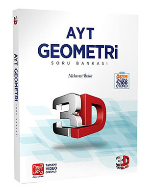 Çözüm Yayınları - 3D AYT Geometri Soru Bankası