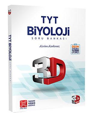 Çözüm Yayınları - 3D TYT Biyoloji Soru Bankası