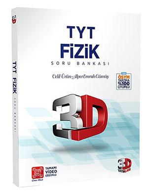 Çözüm Yayınları - 3D TYT Fizik Soru Bankası