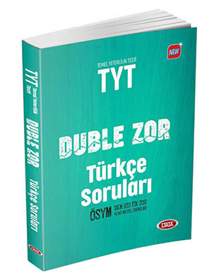 Data Yayınları - TYT Duble Zor Türkçe Soruları