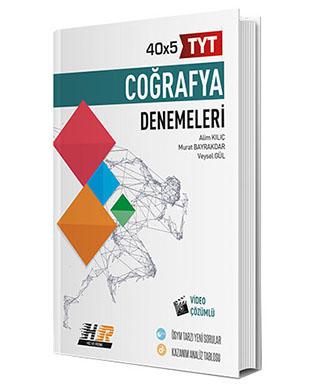 Hız ve Renk Yayınları - TYT Coğrafya 40x5 Denemeleri
