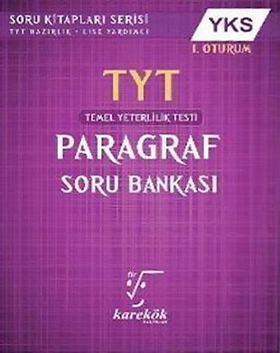 Karekök Yayınları - TYT Paragraf Soru Bankası