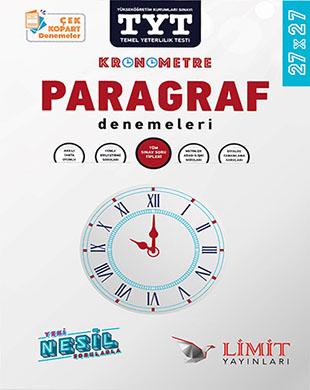 Limit Yayınları - TYT Kronometre Paragraf Denemeleri