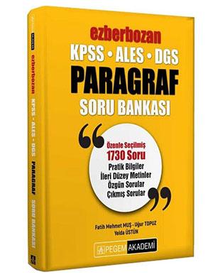 Pegem Yayınları - Ezberbozan Paragraf Soru Bankası