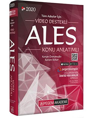 Pegem Akademi Yayıncılık - Video Destekli ALES Konu Anlatımlı
