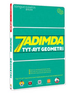 Tonguç Akademi Yayınları - 7 Adımda TYT AYT Geometri Soru Bankası