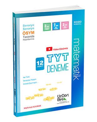 Üç Dört Beş Yayınları - TYT 12'li Matematik Deneme