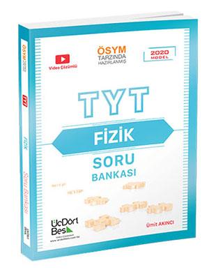 Üç Dört Beş Yayınları - TYT Fizik Soru Bankası
