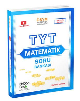 Üç Dört Beş Yayınları - TYT Matematik Soru Bankası
