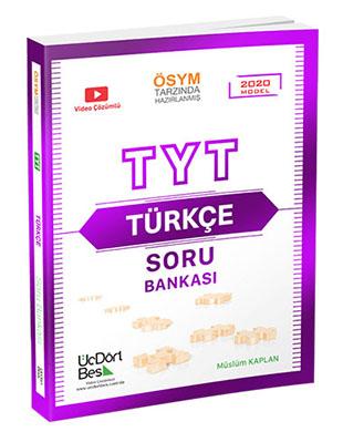 Üç Dört Beş Yayınları - TYT Türkçe Soru Bankası