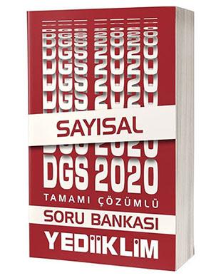 Yediiklim Yayınları - Tamamı Çözümlü DGS Sayısal Soru Bankası